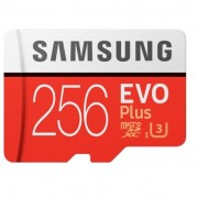 Samsung 256GB EVO Plus microSDHC memóriakártya + Adapter