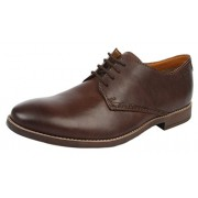 Clarks Men's Novato Plain Brown Sneakers - 10 UK