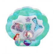Disney Princess The Little Mermaid confezione regalo eau de toilette 30 ml + lipgloss 2,5 g + portafoglio + ciondolo Per Bambini