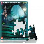 Puzzle 4D Witch