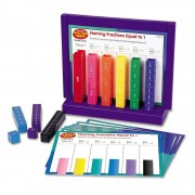 Turnul fractiilor set activitati Learning Resources, 15 turnuri, 6 - 11 ani