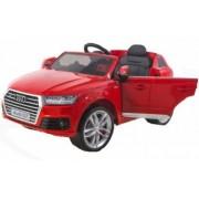 Masinuta electrica cu scaun de piele Audi Q7 Red