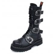 KMM cipő 14 lyukú - Big Skull Black Monster 4P - 140