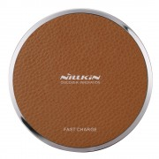 NILLKIN Magic Disk III Fast Charge Wireless Charger Pad (Not Support FOD Function) for Samsung S7/S7 Edge Etc - Brown