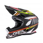 Oneal O´Neal 7SERIES Chaser Evo Casco de Motocross Negro/Blanco XXL (63/64)