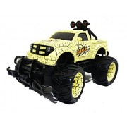 Cross country Rally racing Truck (Remote control, scale 1:20) (Yellow)