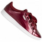 PUMA Vikky Ribbon-satijn Dames Sneakers 366417-04 - rood - Size: 36