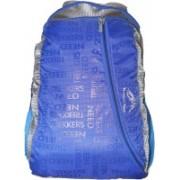 Trekkers Need Waterproof Light Weight Casual Backpack School Bag in Blue and Grey colour 30L Backpack Waterproof Backpack(Multicolor, 12 inch)