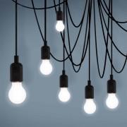 MAMAN - Lampa wisząca 14-punktowa - Mleczna