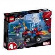 Конструктор Лего Супер Хироу - Spider-Man – преследване с кола - LEGO Marvel Super Heroes 76133