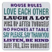 tinnen magneet - house rules