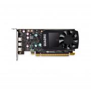 TARJETA DE VIDEO PNY QUADRO P400 2GB/DDR5/128BIT LP