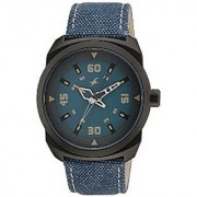 Fastrack Quartz Blue Round Men Watch 9463AL07