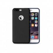 Husa protectie din silicon pentru iPhone 8 PLUS-NEAGRA