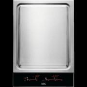 GARANTIE 2 ANI Plita Teppan Yaki AEG, 36 cm; Domino - Crystal Line; Control touch, inox ITE42600KB