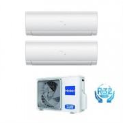 Haier Climatizzatore Haier Dual Split IES 9000+18000 con U.E 3U55S2SR2FA