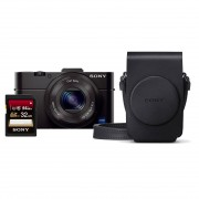 Sony Cybershot DSC-RX100 II compact camera Travel Kit