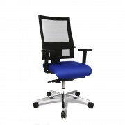 Topstar Kantoordraaistoel PROFI NET 11, in hoogte verstelbare armleuningen met softpad-bekleding Topstar