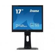"IIYAMA ProLite B1780SD-1 - Monitor LED - 17"" - 1280 x 1024 - TN - 250 cd/m² - 1000:1 - 5 ms - DVI-D, VGA - altifalantes - preto"