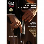 Alfred Music Realtime Jazz Standards - Bass