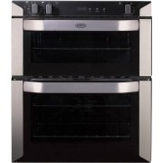 Belling BI70FP Stainless Steel Double Built Under Electric Oven