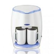 Кафемашина с подарък 2 чаши Sapir SP 1170 L, 450W, разглобяем филтър, LED индикатор, бяла