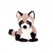 Geen Magnetron warmte knuffel wasbeer 18 cm