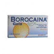 Alfasigma Spa Borocaina Gola 1,5 Mg Compresse Orosolubili Gusto Arancia 20 Compresse