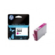 HP Cartucho de tinta Original HP 364 Magenta para HP DeskJet, HP OfficeJet y HP PhotoSmart
