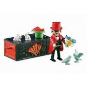 Playmobil Add-On Series - Magician with Magic Box by PLAYMOBIL
