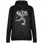 Retake Ronaldo Script Dames Hooded Sweater - Zwart - XXL