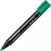 ORIGINAL Staedtler Articoli da ufficio Verde 352-5 Permanentmarker STAEDTLER Lumocolor evidenziatore indelebile 352, verde, tratto: circa 2,0 mm, a punta arrotondata, impermeabile, ricaricabile