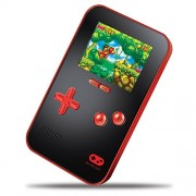 "My Arcade GoGamer Portable Gaming System with 220 HiRes 16 bit Retro Style Games & 2.5"" LCD Screen- Red/Black"