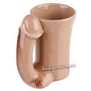 Snopp mugg i keramik