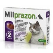 Milprazon pisici 2-8 kg - cutie cu 2 cp
