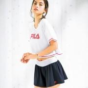 【4点セット】 FILA Tシャツ付水着 エクササイズ【リュリュ】 ベルーナ