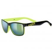Uvex Occhiale sole Uvex Igl 39 (Colore: nero-giallo, Taglia: UNI)
