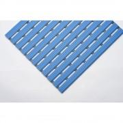 PVC-Profilmatte, pro lfd. m Lauffläche aus Hart-PVC, rutschsicher Breite 1000 mm, blau