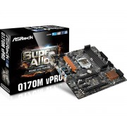 ASRock Intel Q170M vPro Motherboard - Socket 1151