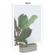 Umbra LED rámeček na fotografii se základem v šedé barvě Umbra Glo, 20 x 25 cm