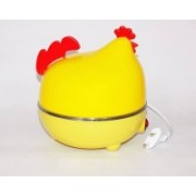 Amazing EggPocher-HEN Egg Steaming Device / Egg Poacher - Cook Your Eggs Right With The Egg Boiler Steaming Device - Up To 7 Eggs At A Time Egg Cooker HEN-Y10 Egg Cooker(Yellow, 7 Eggs)