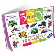 Unicart 500 de Stickere pentru 3-5 ani Mijloace de transport