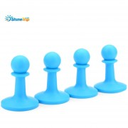 SHINETRIP 4pcs que acampan el protector de la (Azul)