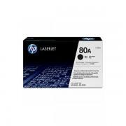 HP 80A Black LaserJet Toner Cartridge , CF280A CF280A