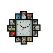 Ceas de perete cu 12 rame foto