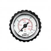 """Beszerelhető nyomásmérő óra - manométer - feszmérő 0-16 bar 1/8"""" (horizontális)"""