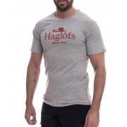 Haglöfs Camp Tee - T-shirt - Grey Melange - S