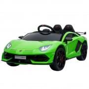 Masinuta electrica Chipolino Lamborghini Aventador SVJ green