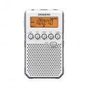 Digitális FM-RDS zsebrádió hangszóróval, fülhallgatóval, DT-800W