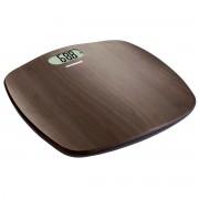 Cantar de persoane Heinner HBS-BRW180BB, 180kg, Display LCD, Gradare la 100g, Design de lemn, Maro